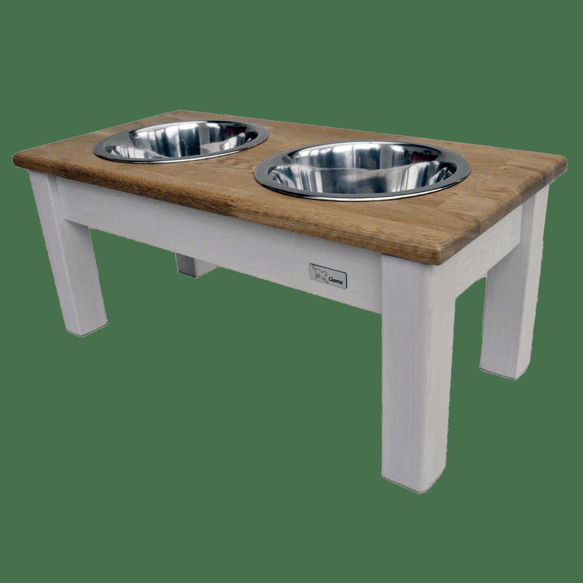Enja- elegant matbar i trä till både stora och små hundar