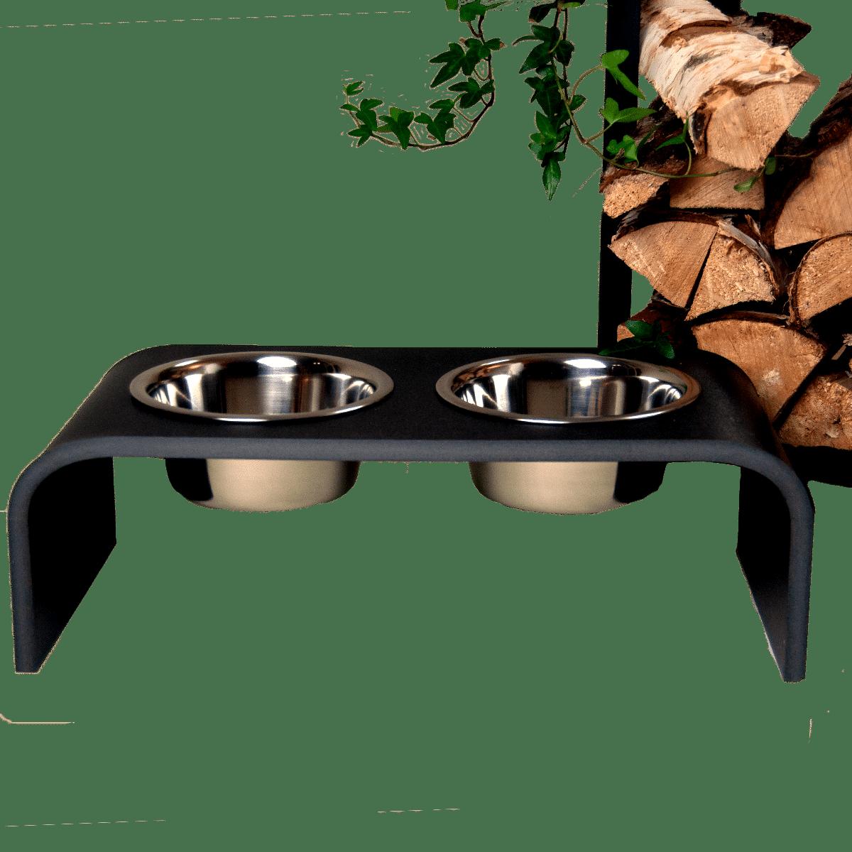 Snygg matbar i svart från Trendy Pet