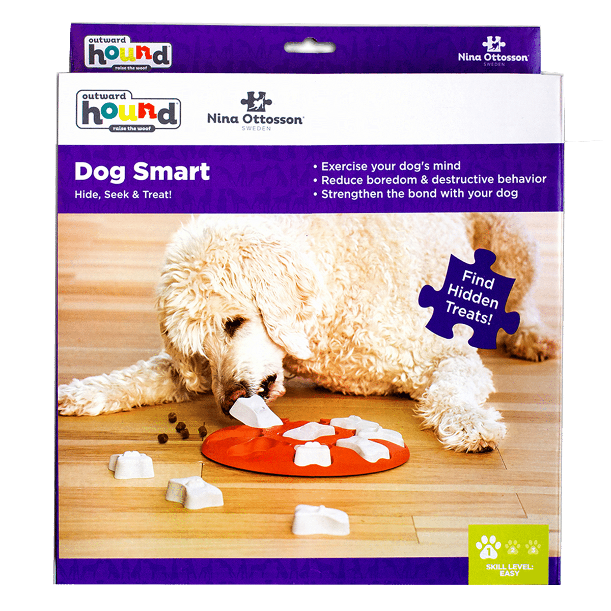 Dog Smart- lätt aktiveringsleksak till hund eller katt