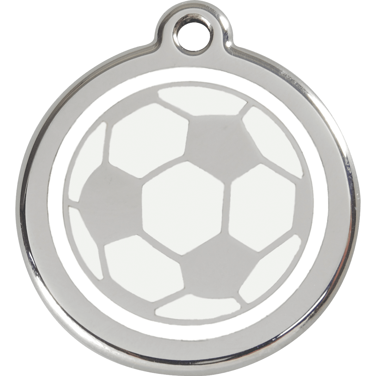 ID-bricka för fotbollsfantasten