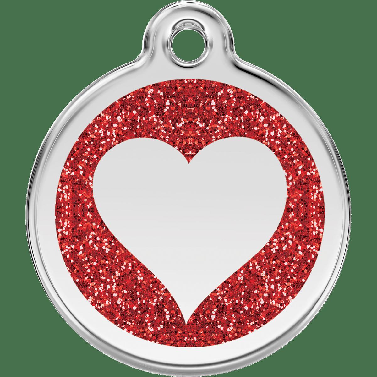 Röd id-bricka till din älskling