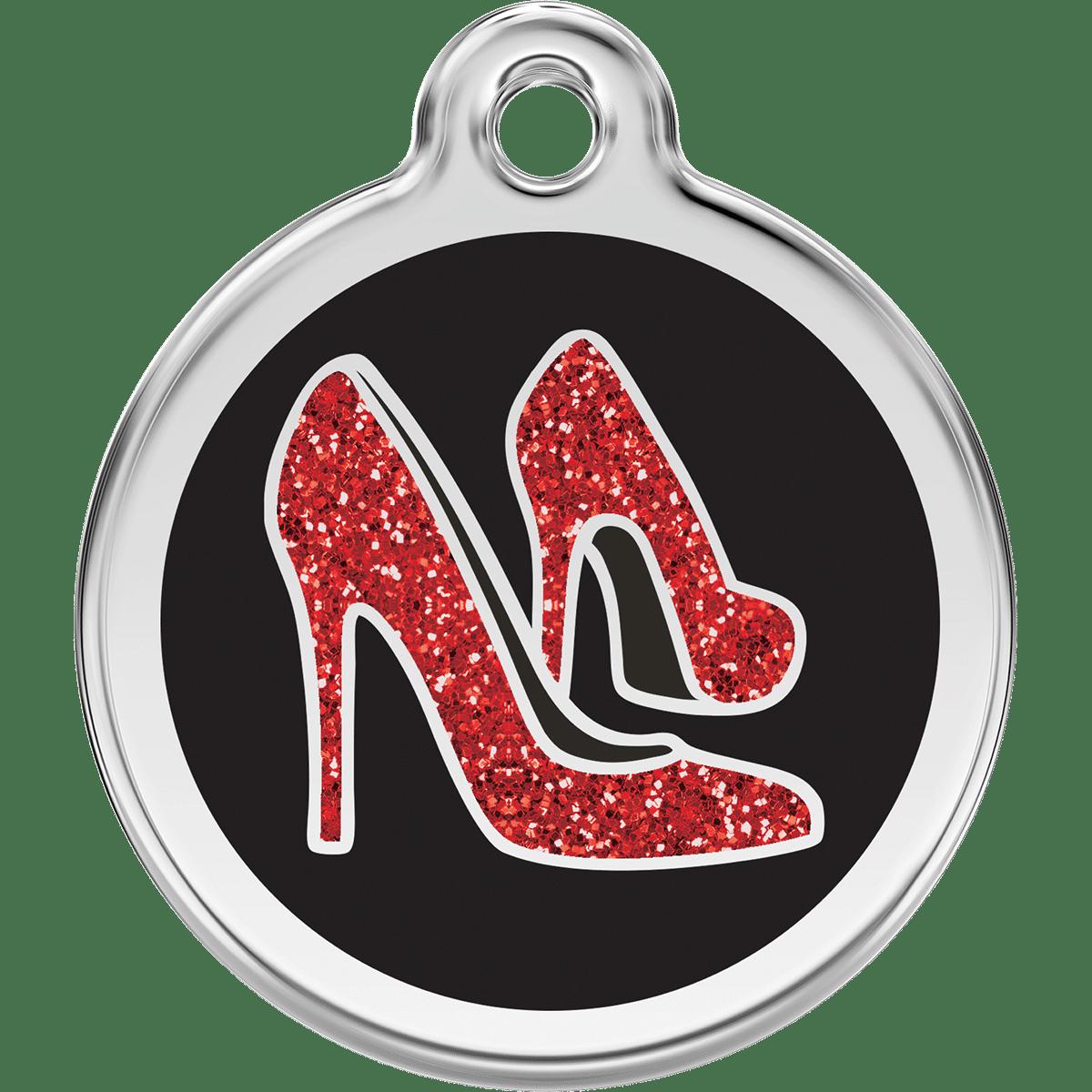 Id-bricka för skoälskaren