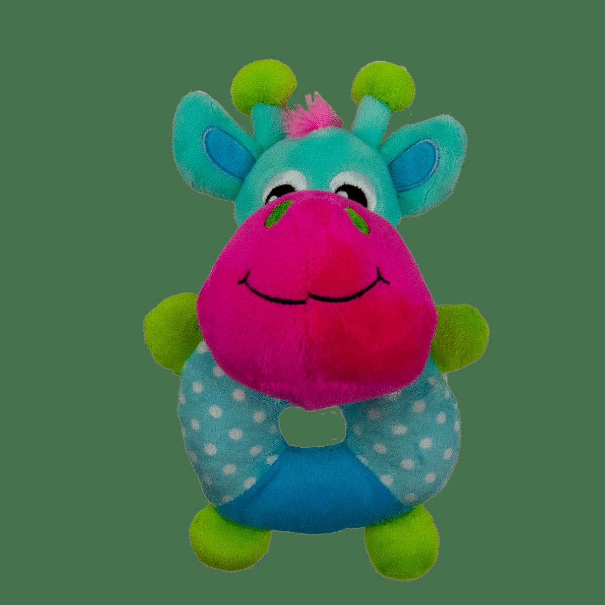 Leksak till hunden- en ko i mjukt material