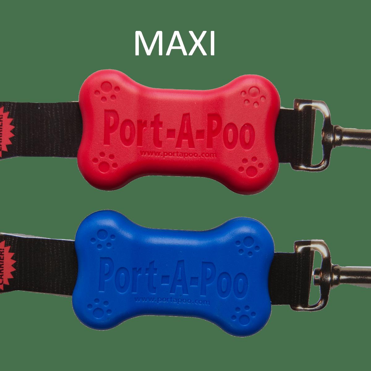 Port-a-poo hållare till hundens bajspåsar