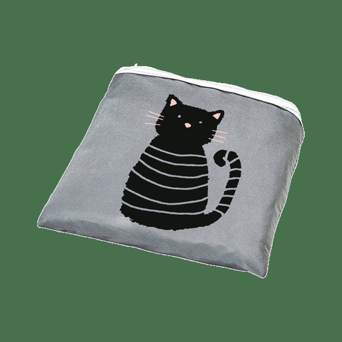 Vik ihop din shoppingkasse med kattmotiv