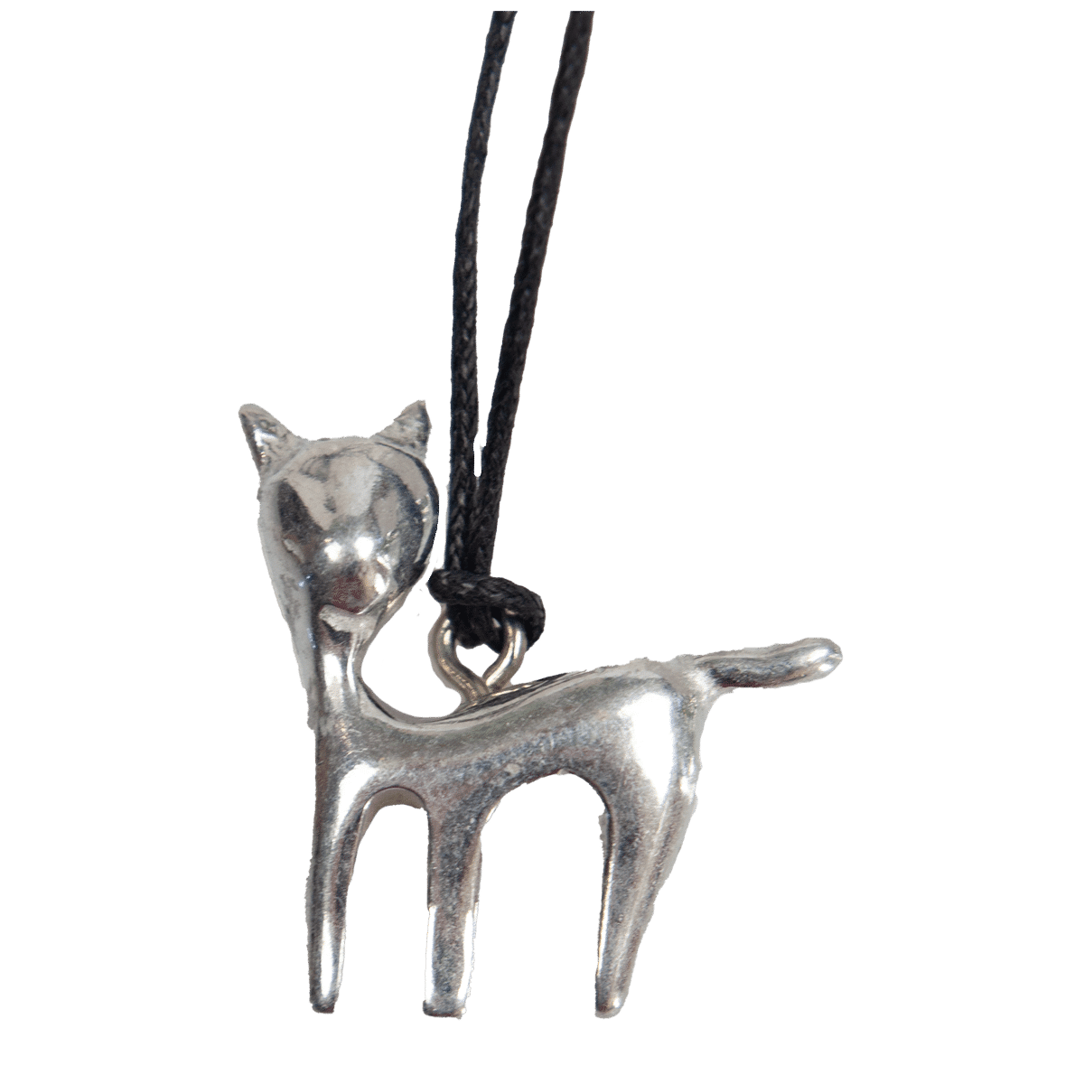 Halssmycke med en katt
