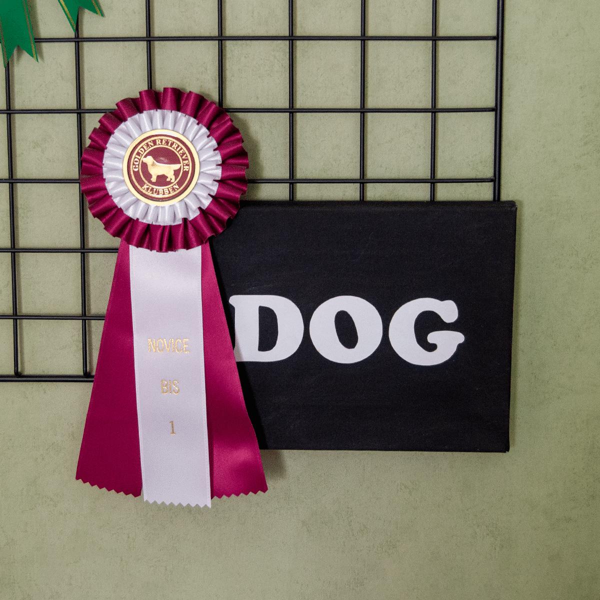 Canvastavla med ordet Dog