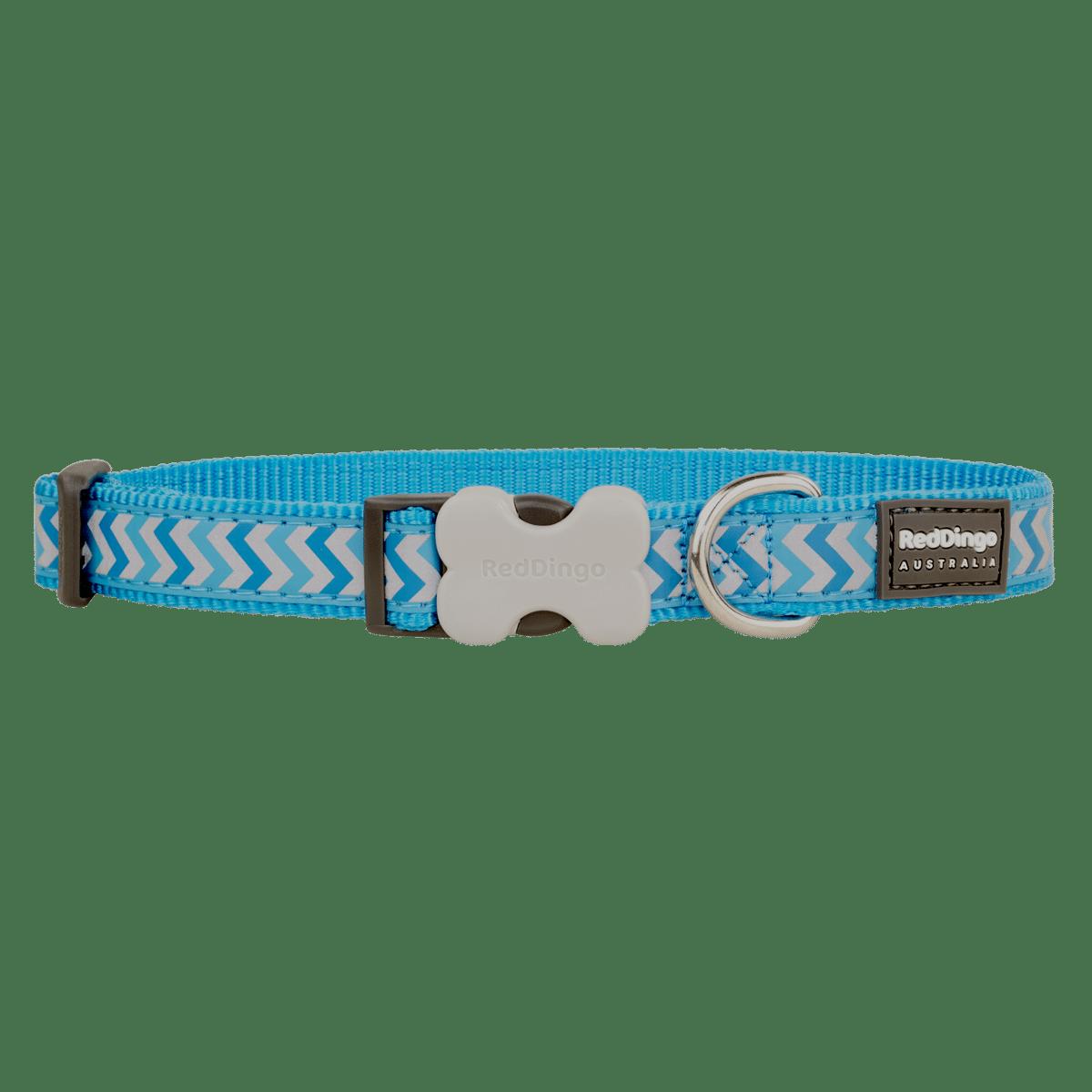 Hundhalsband av hög kvalitet med inbyggd reflex