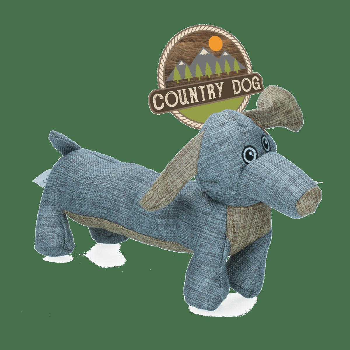Country Dog Buddy - leksak till hunden av återvunnet material